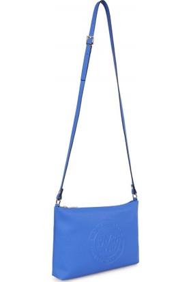 19V69 Italia 1980 Sax Mavi Kadın Çapraz Çanta