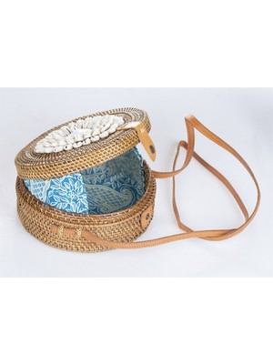 Mermeaıd's Bambu Deniz Kabuklu Çanta