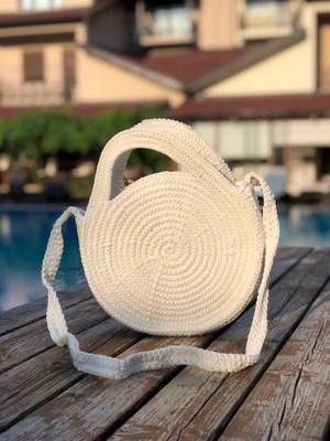 Mermeaıd's Renkli Örme Çanta