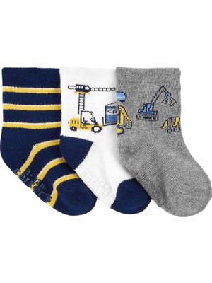Carter's 3'lü Bebek Çorabı 1I986110