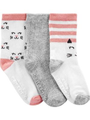 Carter's 3'lü Çocuk Çorabı 2J073510