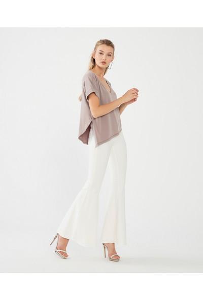 Decosa Paris V Yakalı Kadın Bluz