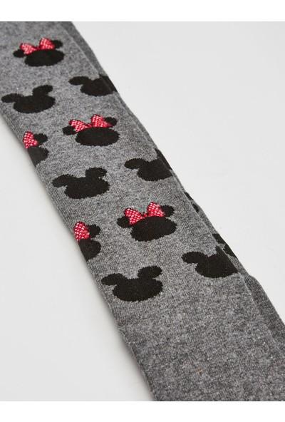 LC Waikiki Minnie Mouse Kız Çocuk Külotlu Çorap