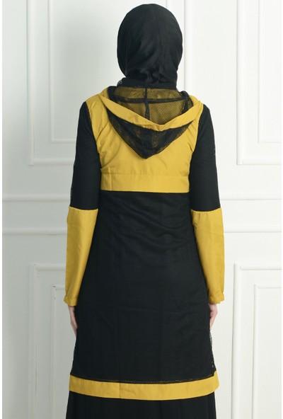 Nc Design Kadın Sarı Trençkot