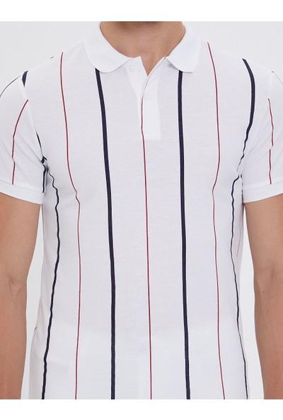 Loft 2020238 Erkek Polo Yaka T-Shirt