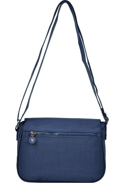 Smart Bags Kapaklı Çapraz Çanta Lacivert 3056