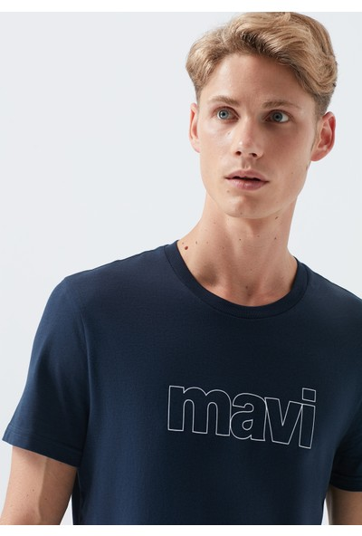 Mavi Logo Lacivert T-Shirt