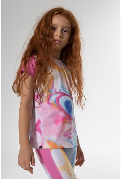 Colorinas Stay Active T-Shirt Pembe - 10 Yaş