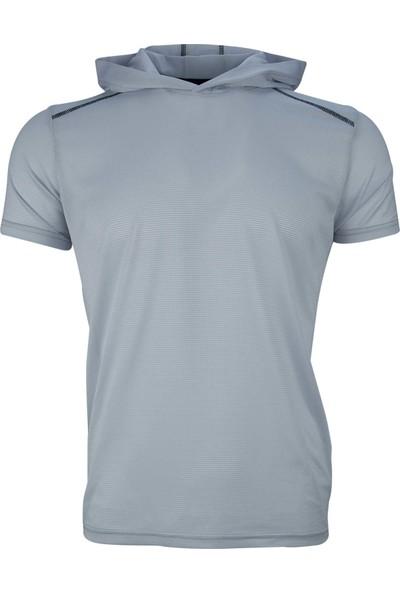 Fimerang Basic Spor Kapşonlu T-Shirt