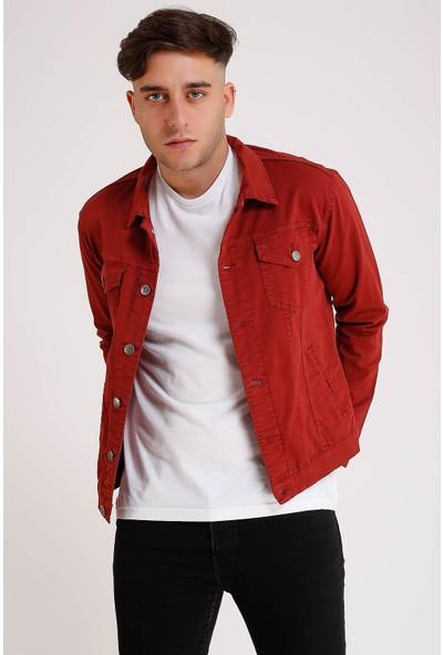 Lee Jones Denim Kırmızı Kot Ceket
