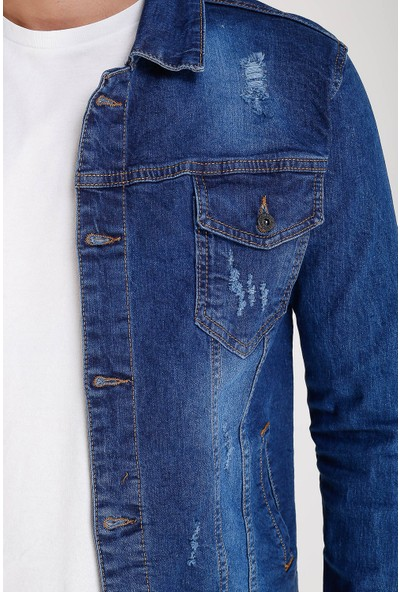 Lee Jones Denim Kot Mavi Ceket