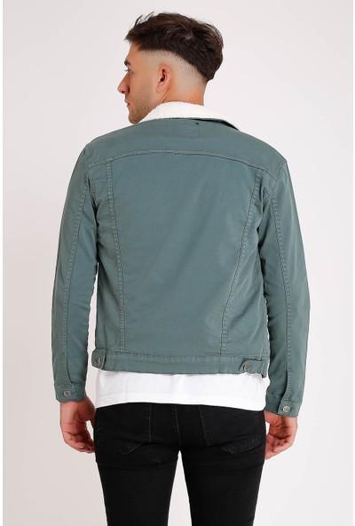 Lee Jones Denim Mint Yeşil Kot Ceket