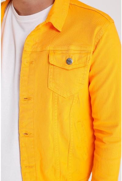 Lee Jones Denim Sarı Kot Ceket