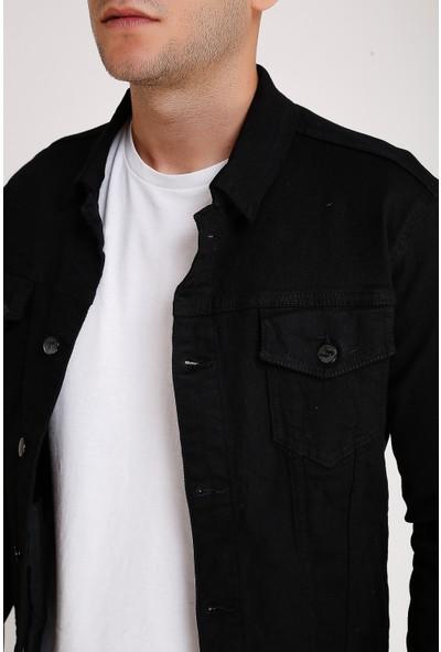 Lee Jones Denim Siyah Kot Ceket
