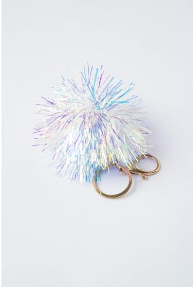 Penti Çok Renkli Glitter Anahtarlık