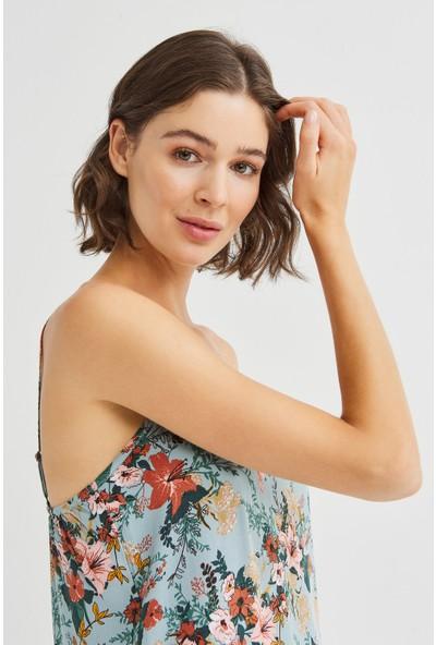 Penti Çok Renkli Misty Garden Elbise