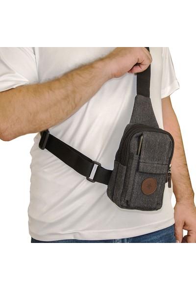 Lederax MN09 Mini Çapraz Sırt ve Göğüs Çantası Bodybag