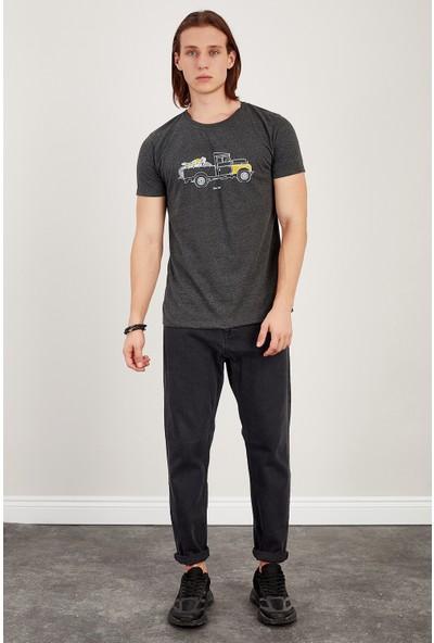 MNC Antrasit Baskılı T-Shirt Me20S214748