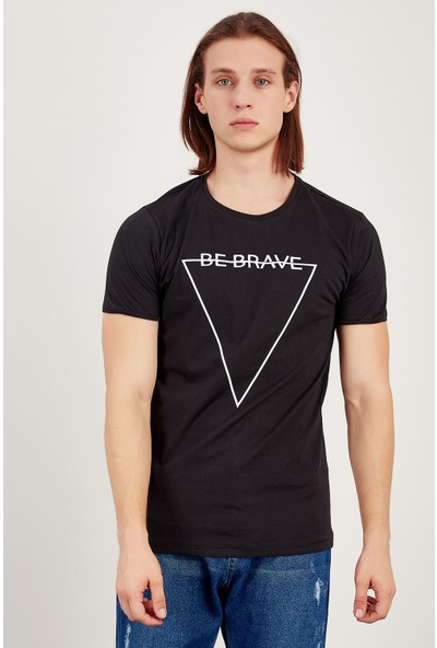 MNC Siyah Erkek T-Shirt Me20S214560