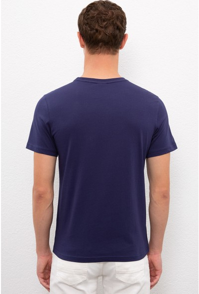 U.S. Polo Assn. Erkek Lacivert T-Shirt 50217944-VR033