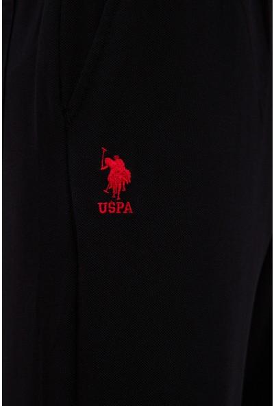 U.S. Polo Assn. Erkek Siyah Örme Şort 50222631-VR046