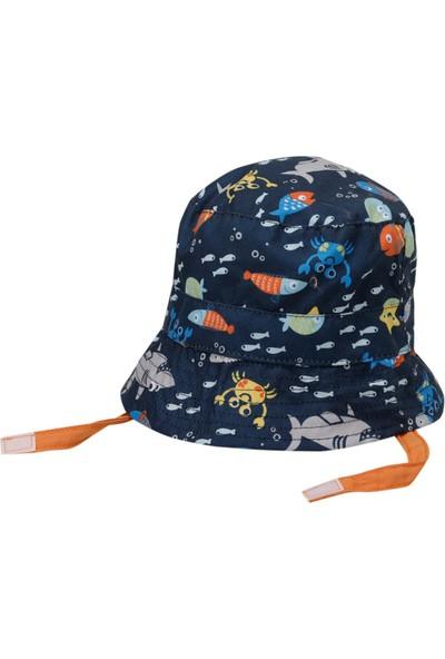 I Cool Fısh Şapka-B Lacivert Erkek Çocuk Şapka