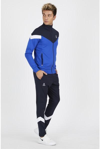 Sportstation Erkek Eşofman Takımı Kolu Parçalı Dalgıç Kumaş