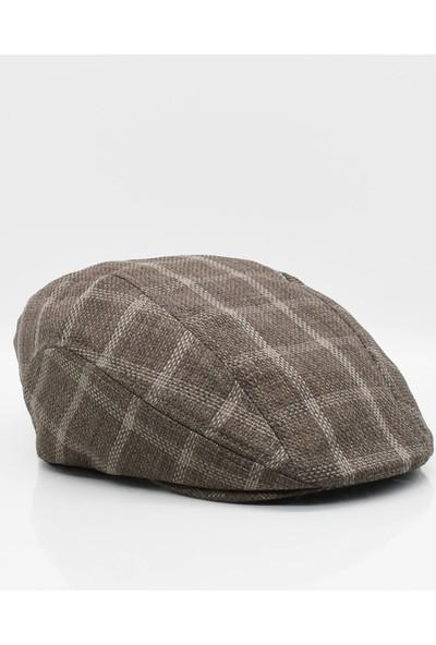 Külah Erkek Yazlık Kasket Şapka - Kahve