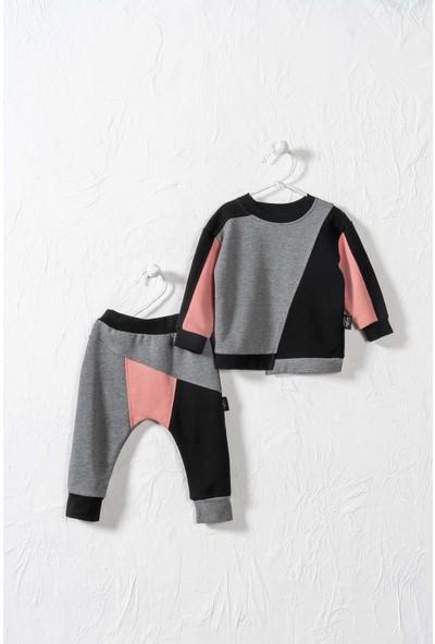 Moi Noi Unisex Bebek ve Çocuk Renkli 2 Parça Takım