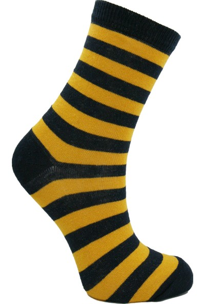 Calza Bella Erkek Çocuk 5'li Soket Çorap Seti - Yıldızlı/çizgili/düz
