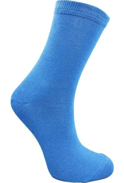 Calza Bella Erkek Çocuk 5'li Soket Çorap Seti - Çizgili