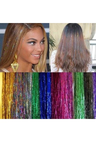 Alfa Saç Simi Hair Tinsel Kaynak Boncuğu