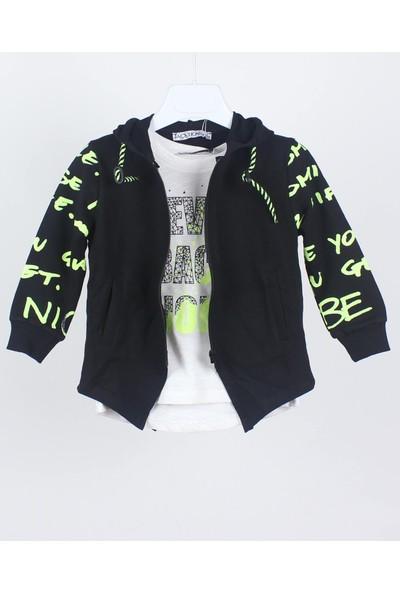 Jack Lions Erkek Bebek Neon Baskılı Sweatshirt