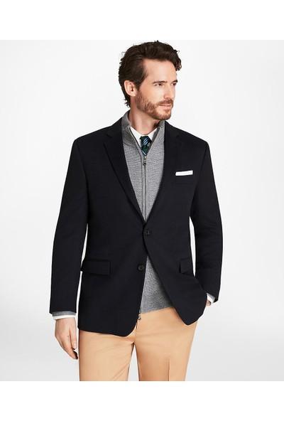 Brooks Brothers Regent Kesim İki Düğmeli Kaşmir Ceket