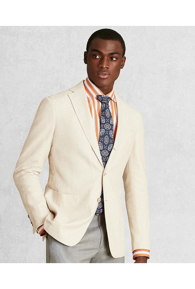 Brooks Brothers Golden Fleece Üç Düğmeli Ceket