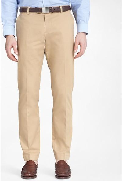 Brooks Brothers Erkek Bej Mılano Fıt Chıno Pantolon