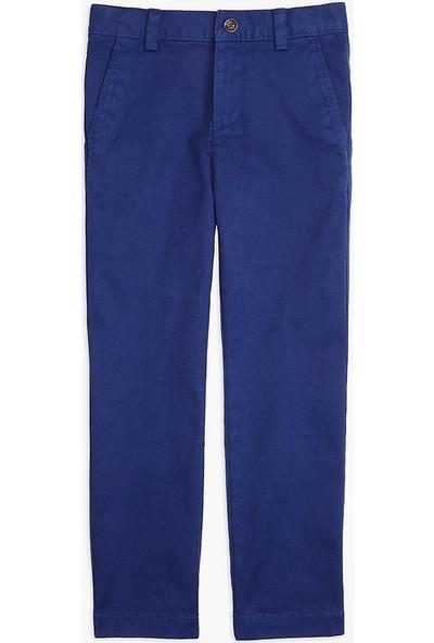 Brooks Brothers Erkek Çocuk Koyu Mavi Chıno Pantolon