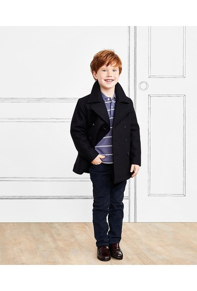 Brooks Brothers Erkek Çocuk Lacivert Kadife Pantolon