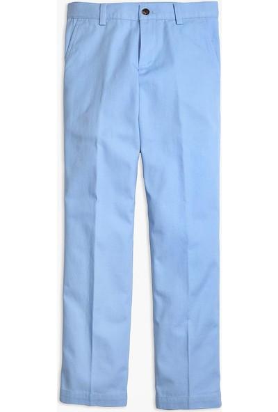 Brooks Brothers Erkek Çocuk Pastel Mavi Çocuk Pantolon
