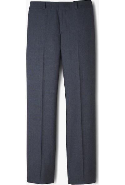 Brooks Brothers Erkek Çocuk Lacivert Düz Takım Elbise Pantolonu