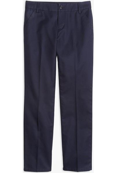 Brooks Brothers Kız Çocuk Lacivert Pantolon