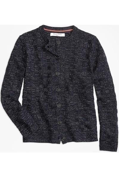 Brooks Brothers Kız Çocuk Lacivert Sweatshirt