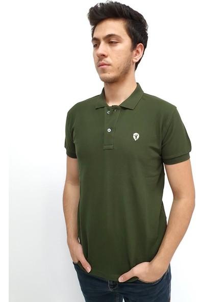 Bbb Tişört T-Shirt Yüksek Kalite Amerikan Pike Kumaş %100 Pamuk Haki M