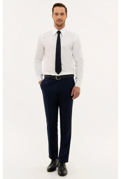 Pierre Cardin Lacivert Slim Fit Pantolon 50229587-VR033