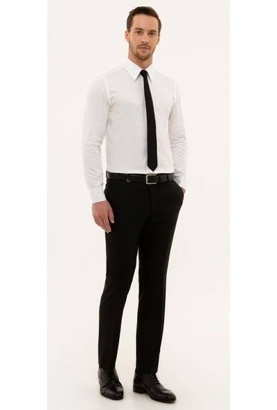 Pierre Cardin Erkek Siyah Slim Fit Pantolon 50230065-Vr046