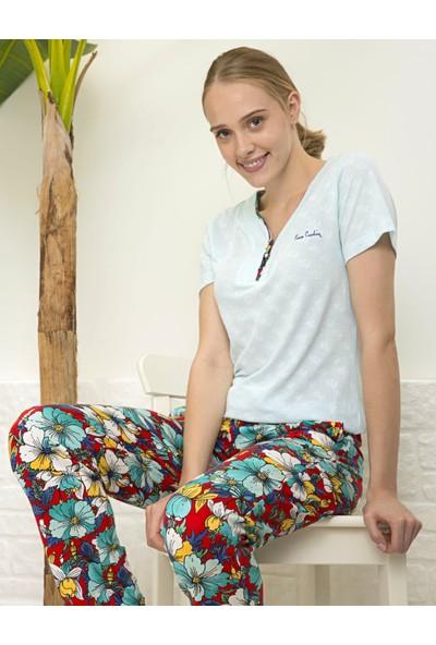 Pierre Cardin Kadın Mavi Pijama Takım 50234448-300