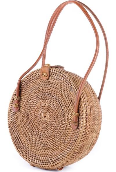 Mermeaıd's Bambu Kısa Saplı Çanta