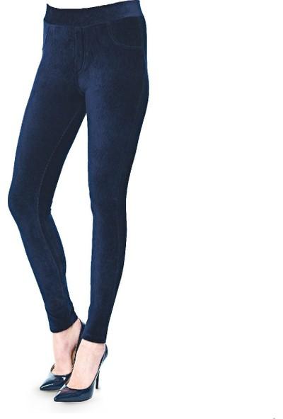 Fsm1453 Kadın Kadife Pantolon Tayt