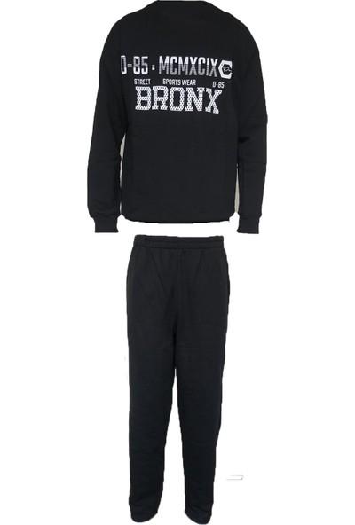 Tampap Erkek Kalın Kışlık Cepli Pijama Takımı