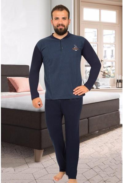 Tampap Erkek Uzun Kollu Pijama Takımı